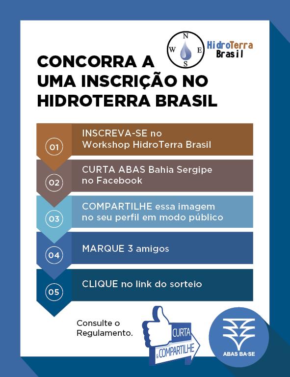 d49343f3039ca Concorra a uma Inscrição Grátis no HidroTerra Brasil em Morro do ...